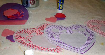 door hanger valentine