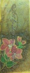 Hand Painted Shawl
