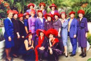 red hat society founding chapter